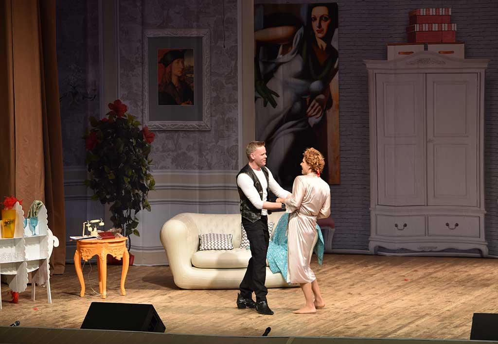 Спектакль «Мужчины по графику» с большим успехом был представлен в Ивантеевке
