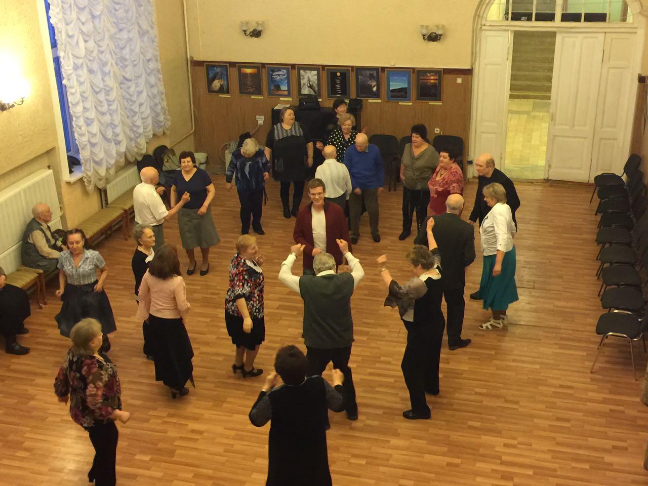 Ретро-пати «Танцуют все»
