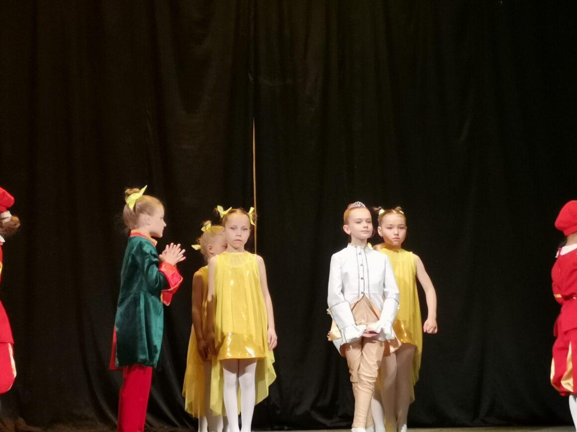 Отчетный концерт школы классического балета «Балеринки»